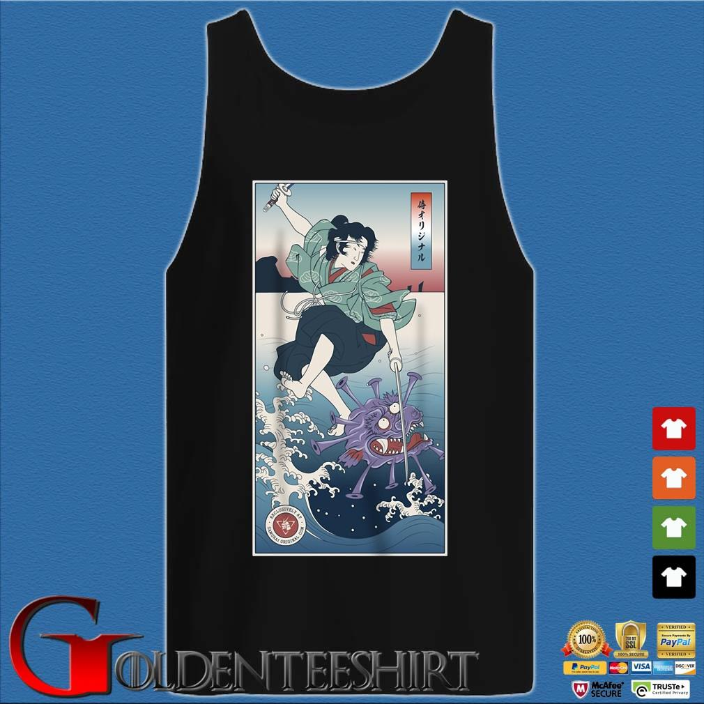Samurai VS Covid 19 Shirt Tank top den