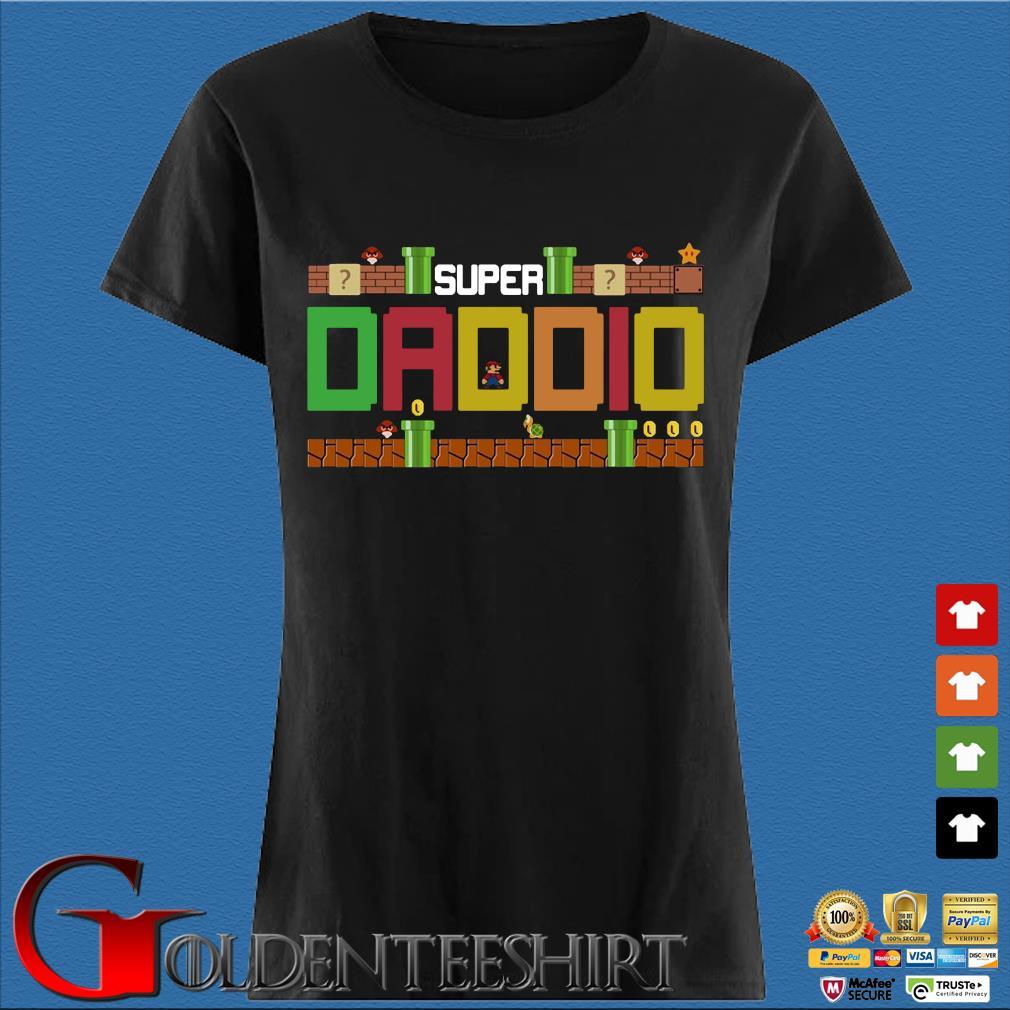 Super Daddio Mario Shirt Den Ladies
