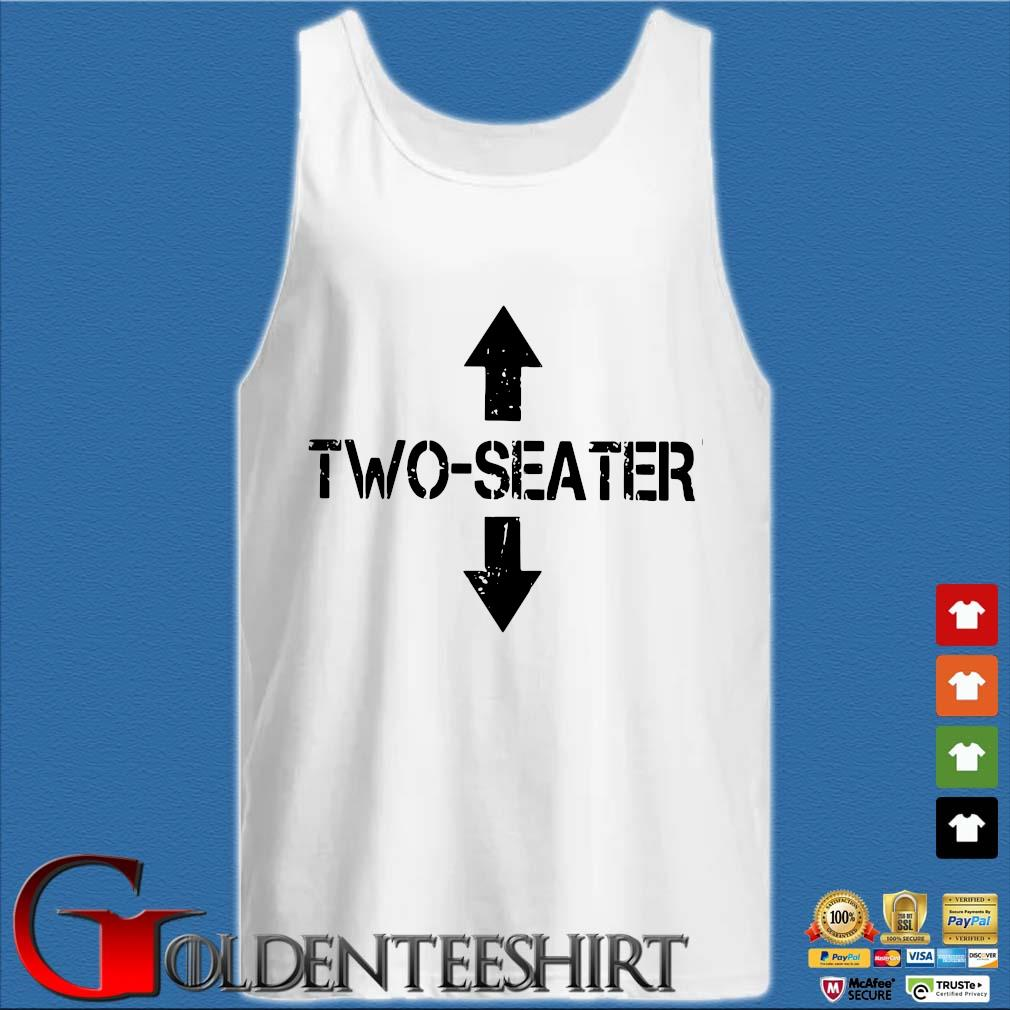 Two Seater Shirt Tank top trắng