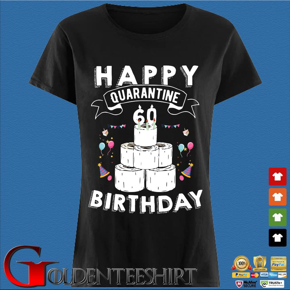 60th Birthday Gift Idea Born in 1940 Happy Quarantine Birthday 80 Years Old T Shirt Social Distancing Tee Shirts Den Ladies