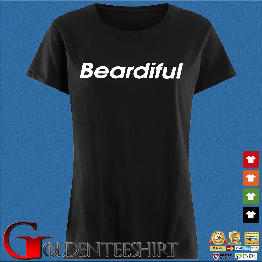 Beardiful Black Shirt Den Ladies