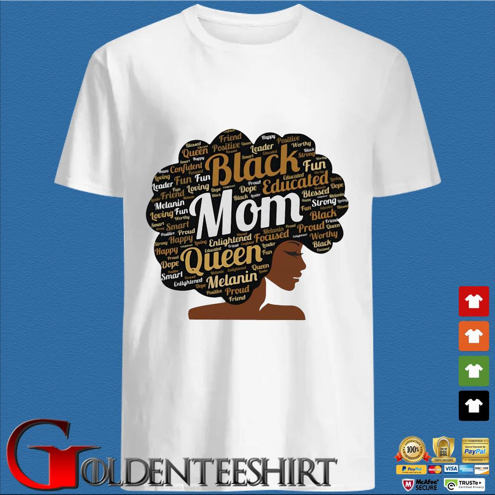 Black Mom Queen Melanin Shirt