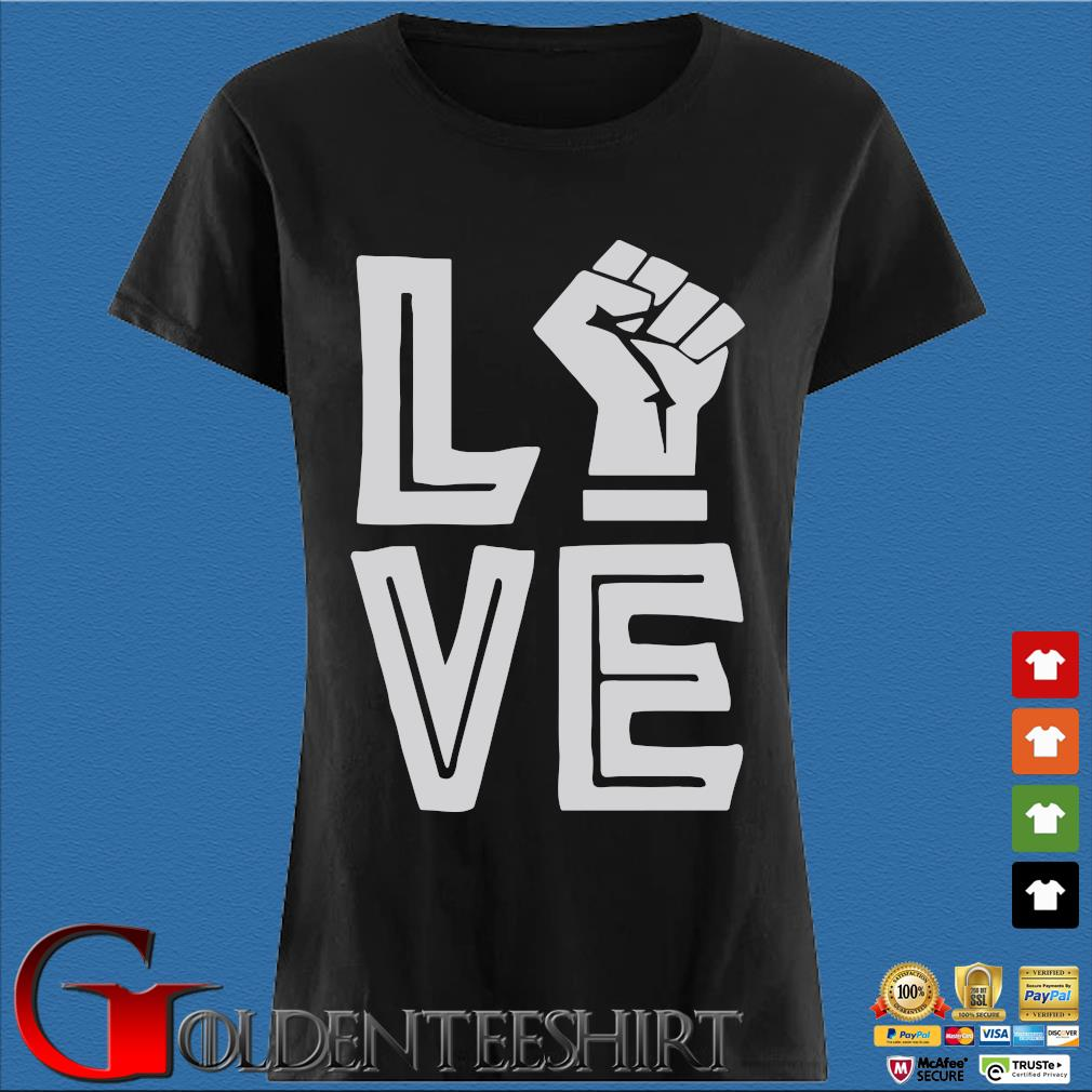 Strong Hand Love Shirt Den Ladies