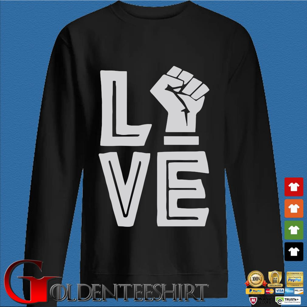 Strong Hand Love Shirt Den Sweater