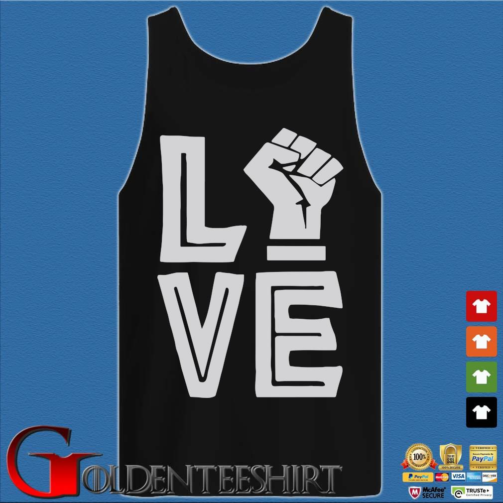 Strong Hand Love Shirt Tank top den