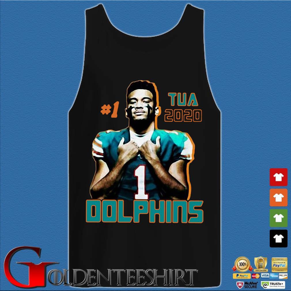 1 tua tagovailoa 2020 Miami Dolphins football s Tank top den