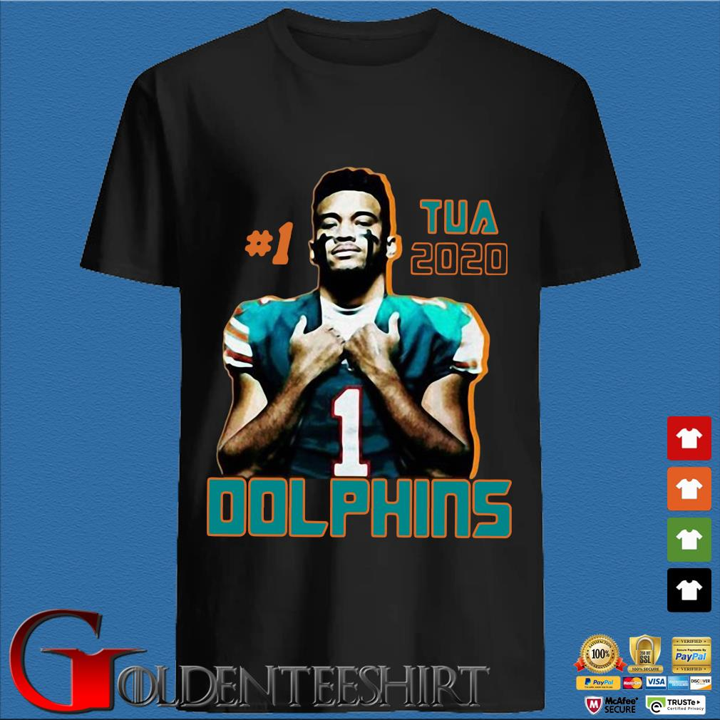 1 tua tagovailoa 2020 Miami Dolphins football shirt