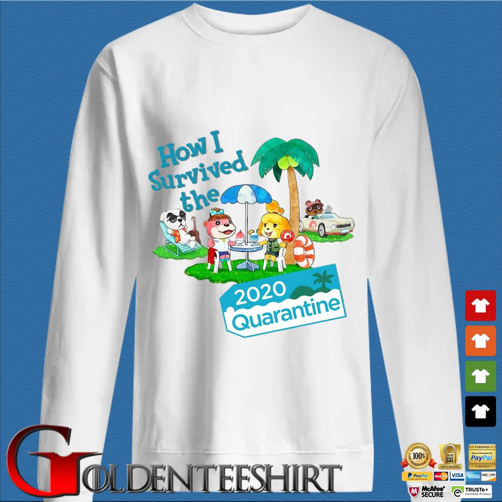 Animal Crossing How I Survived The 2020 Quarantine Shirt trang Sweater