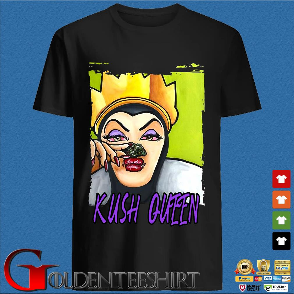 High quality weed evil kush queen shirt