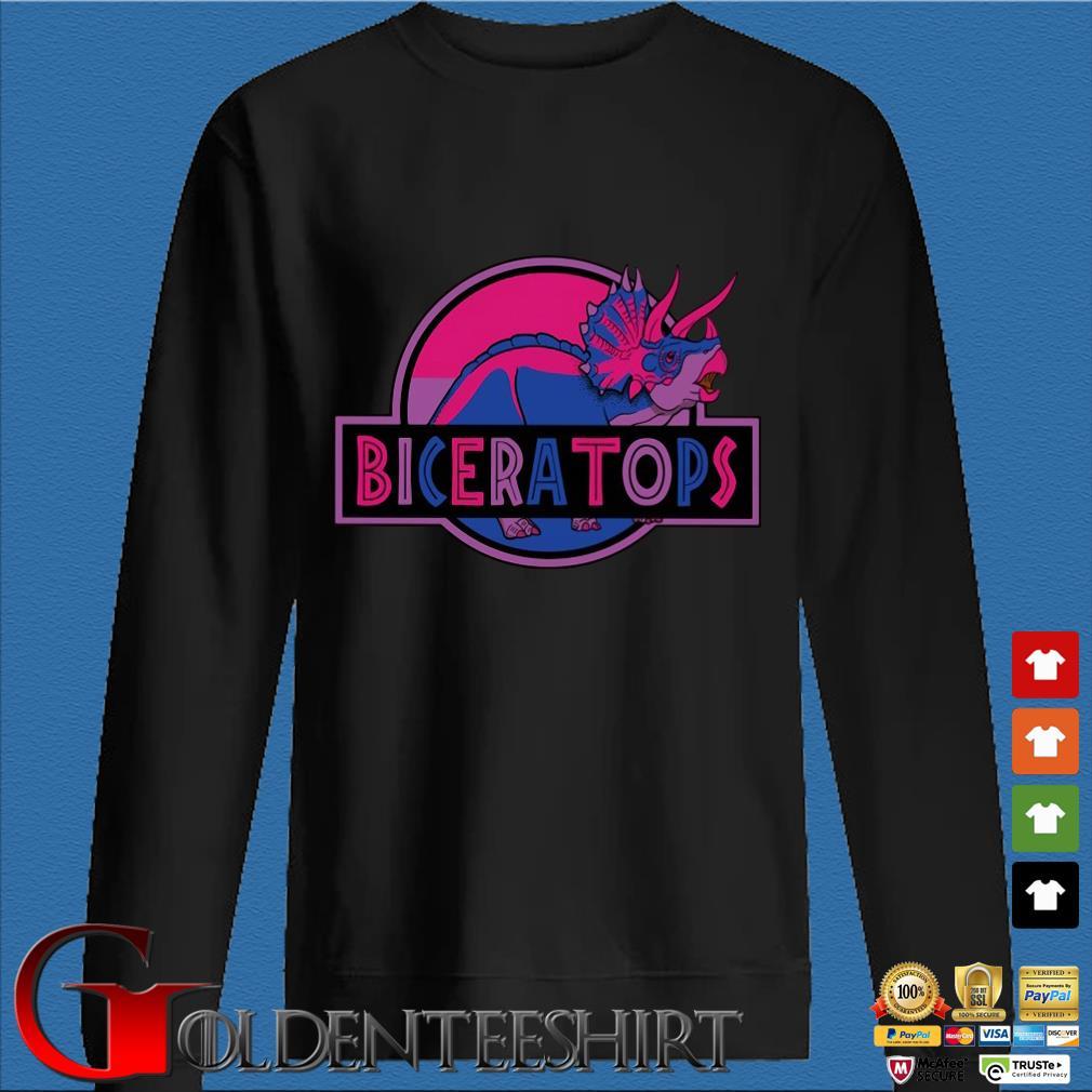 LGBT Biceratops triceratops Shirt Den Sweater