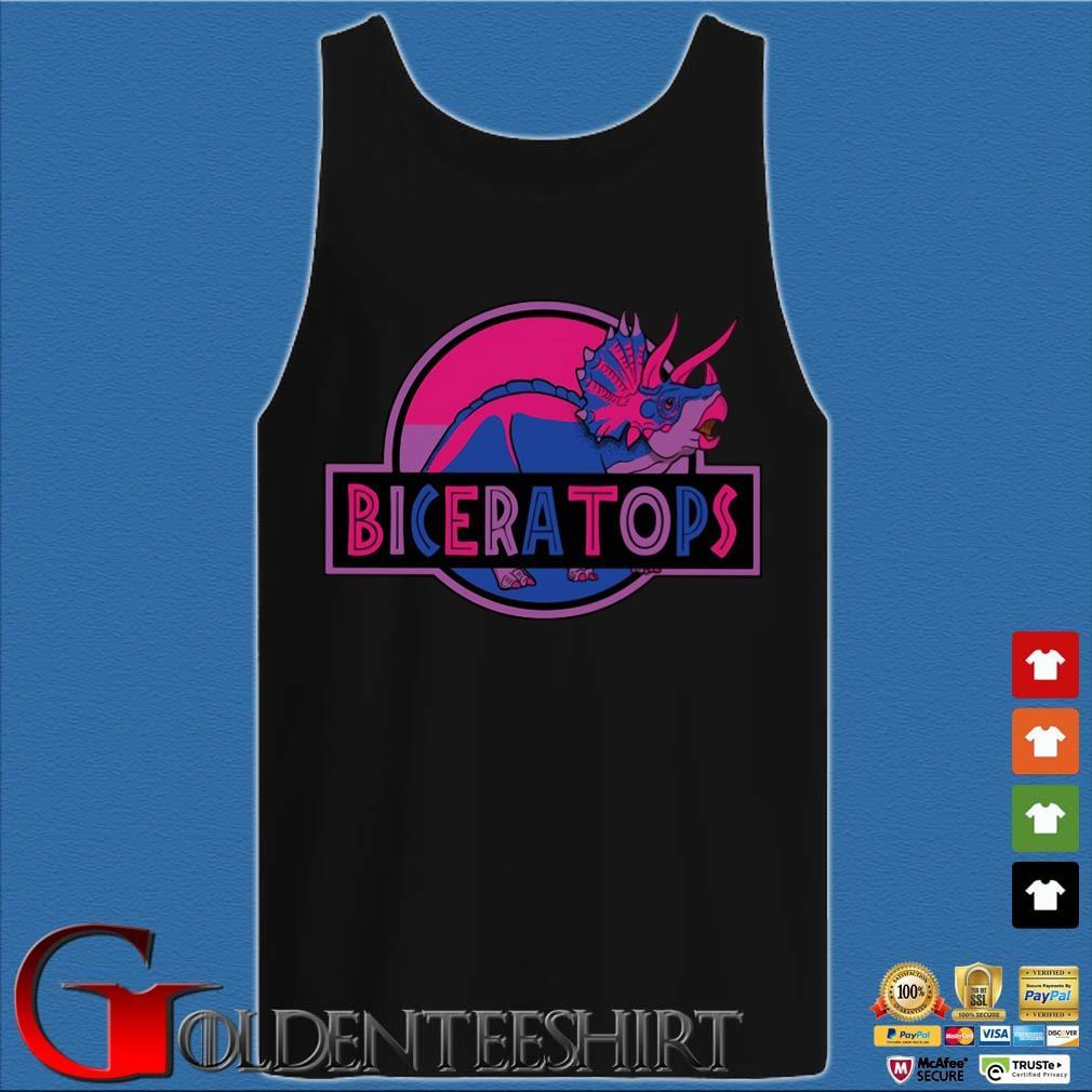 LGBT Biceratops triceratops Shirt Tank top den