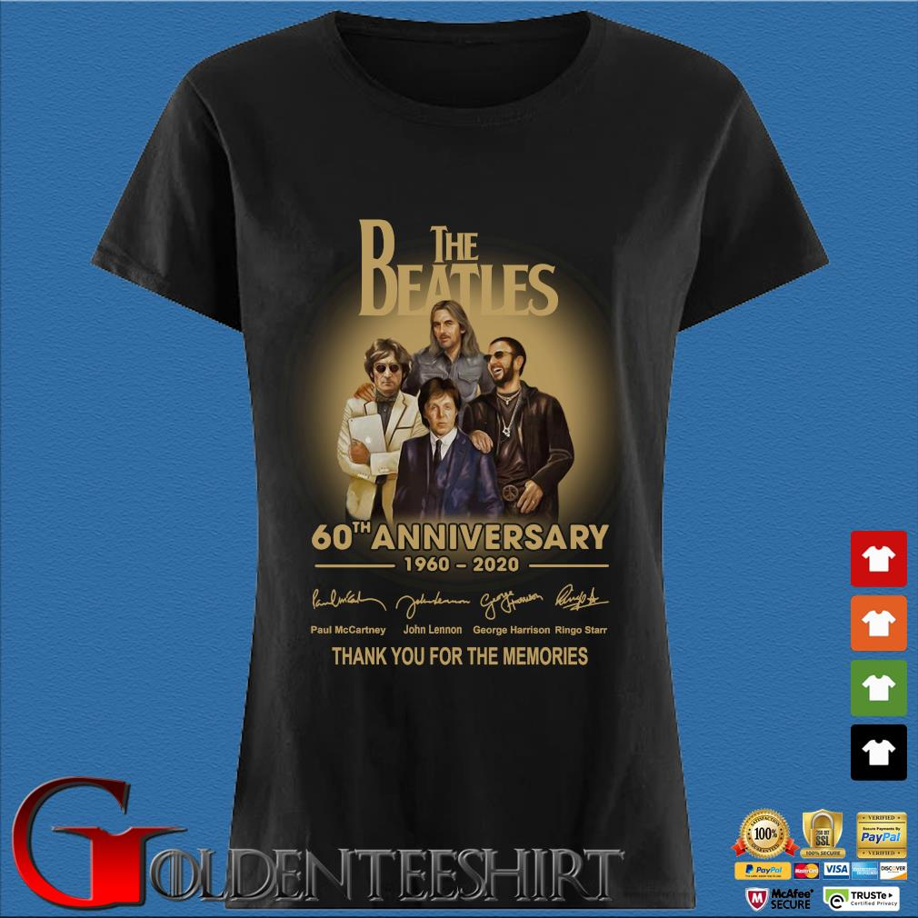 The Beatles 60th anniversary 1960 2020 signatures thank you for the memories s Den Ladies