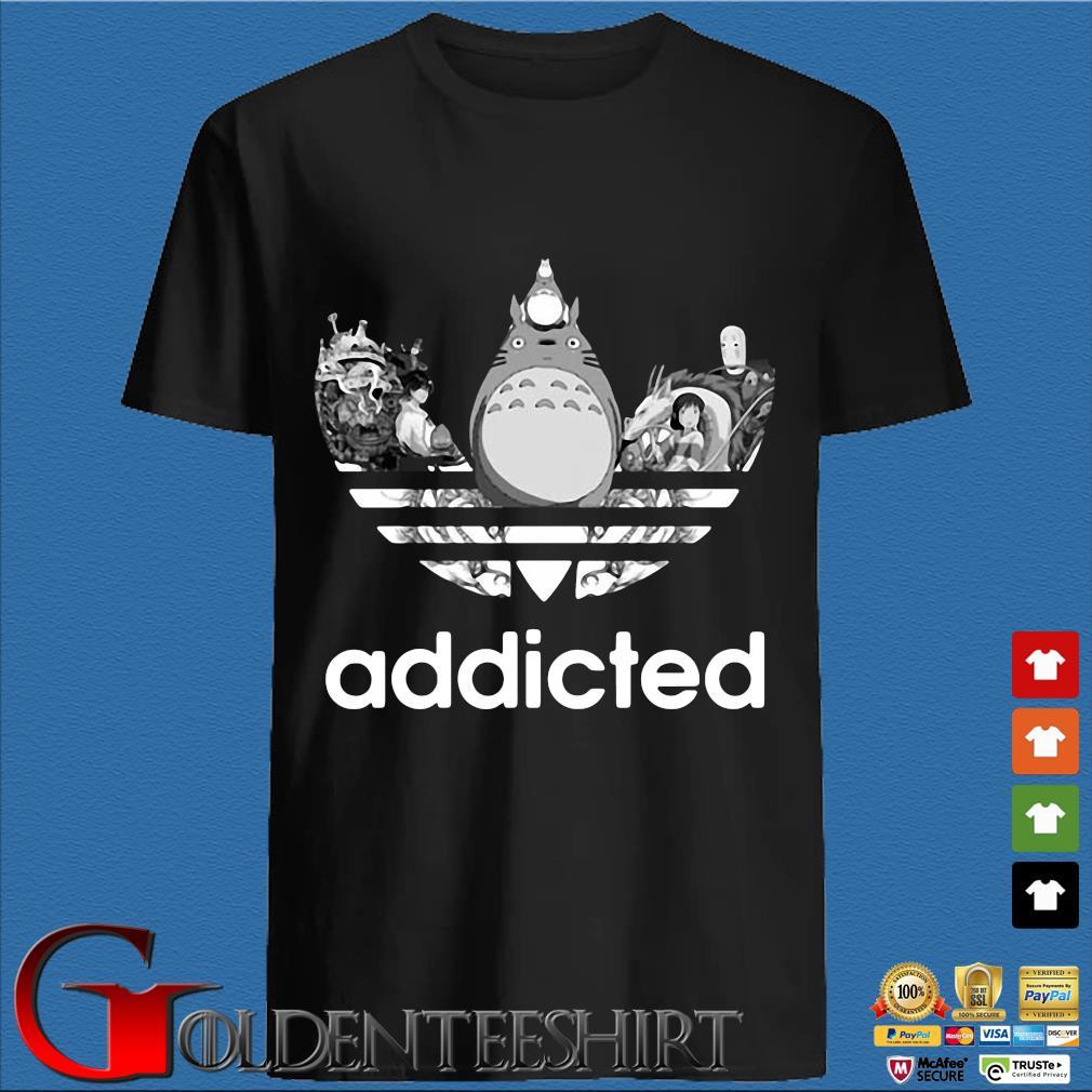 Totoro Addicted Adidas Ghibli Tee Shirt