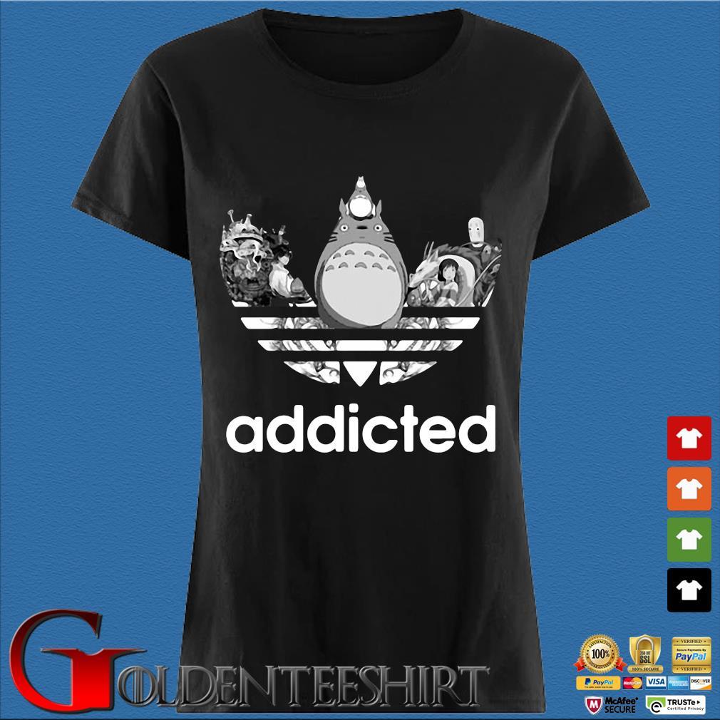 Totoro Addicted Adidas Studio Ghibli Shirt Den Ladies