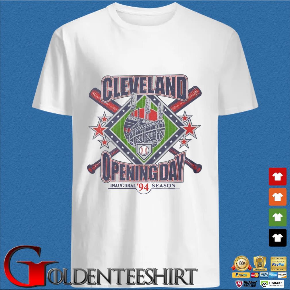 Vintage 1994 Cleveland Opening Day Inaugural 94 Season Shirt
