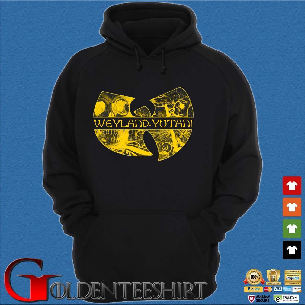 Wu Tang Weyland Yutani Shirt Hoodie đen