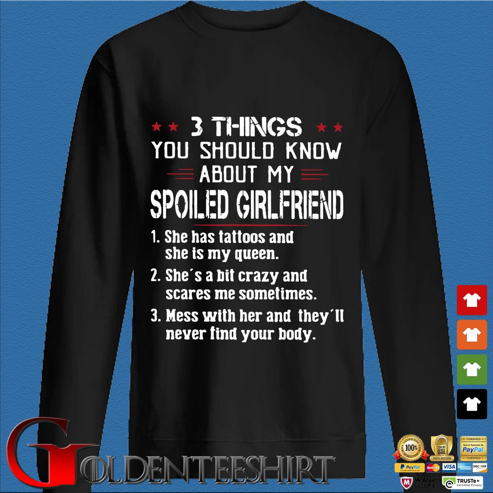 3 things you should know about my Spoiled girlfriend s Den Sweater