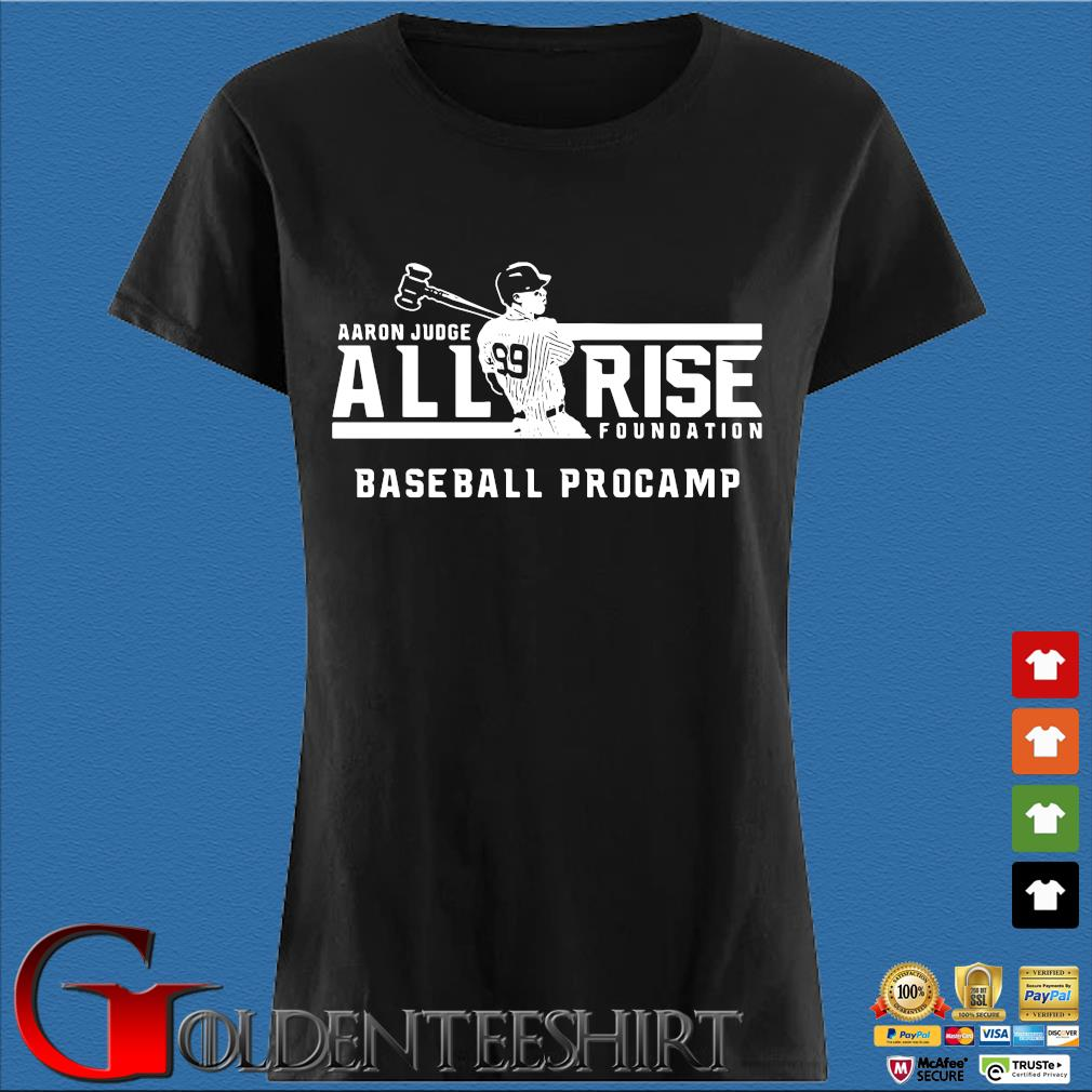 Aaron Judge all rise foundation baseball procamp s Den Ladies