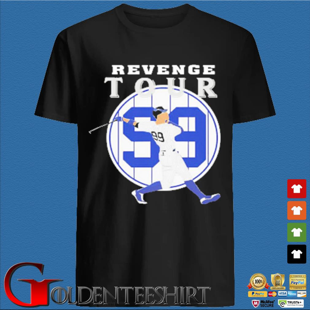 Aaron Judge revenge tour 99 New York Yankees shirt