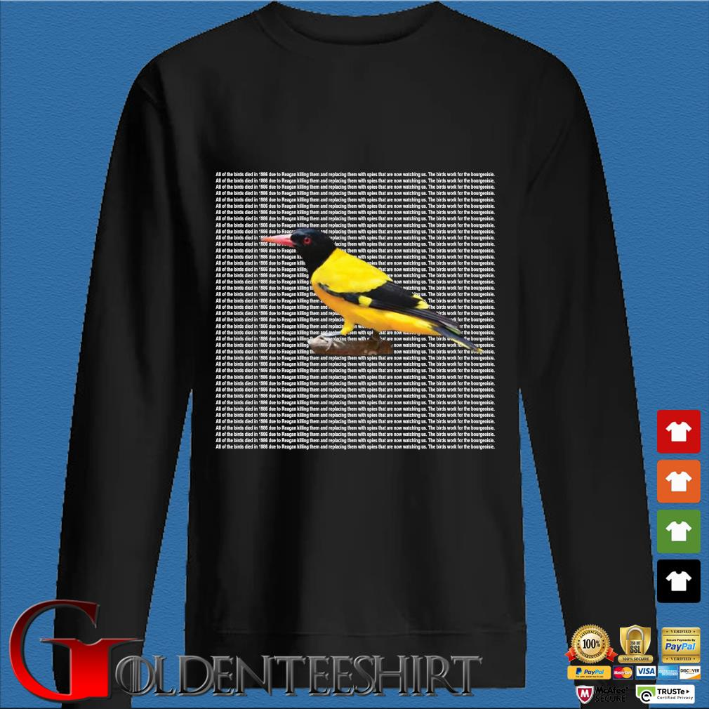 All of the birds died in 1986 s Den Sweater