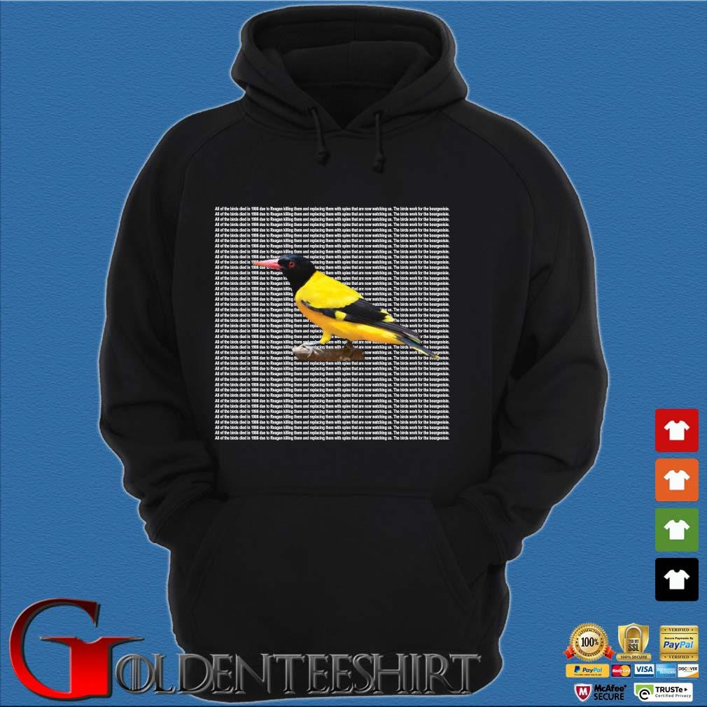 All of the birds died in 1986 s Hoodie đen