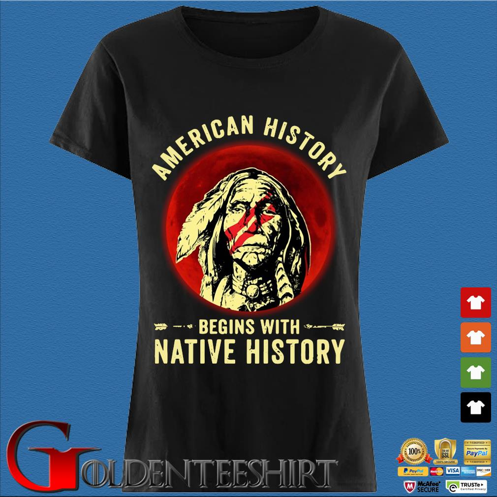 American history begins with native history moon s Den Ladies