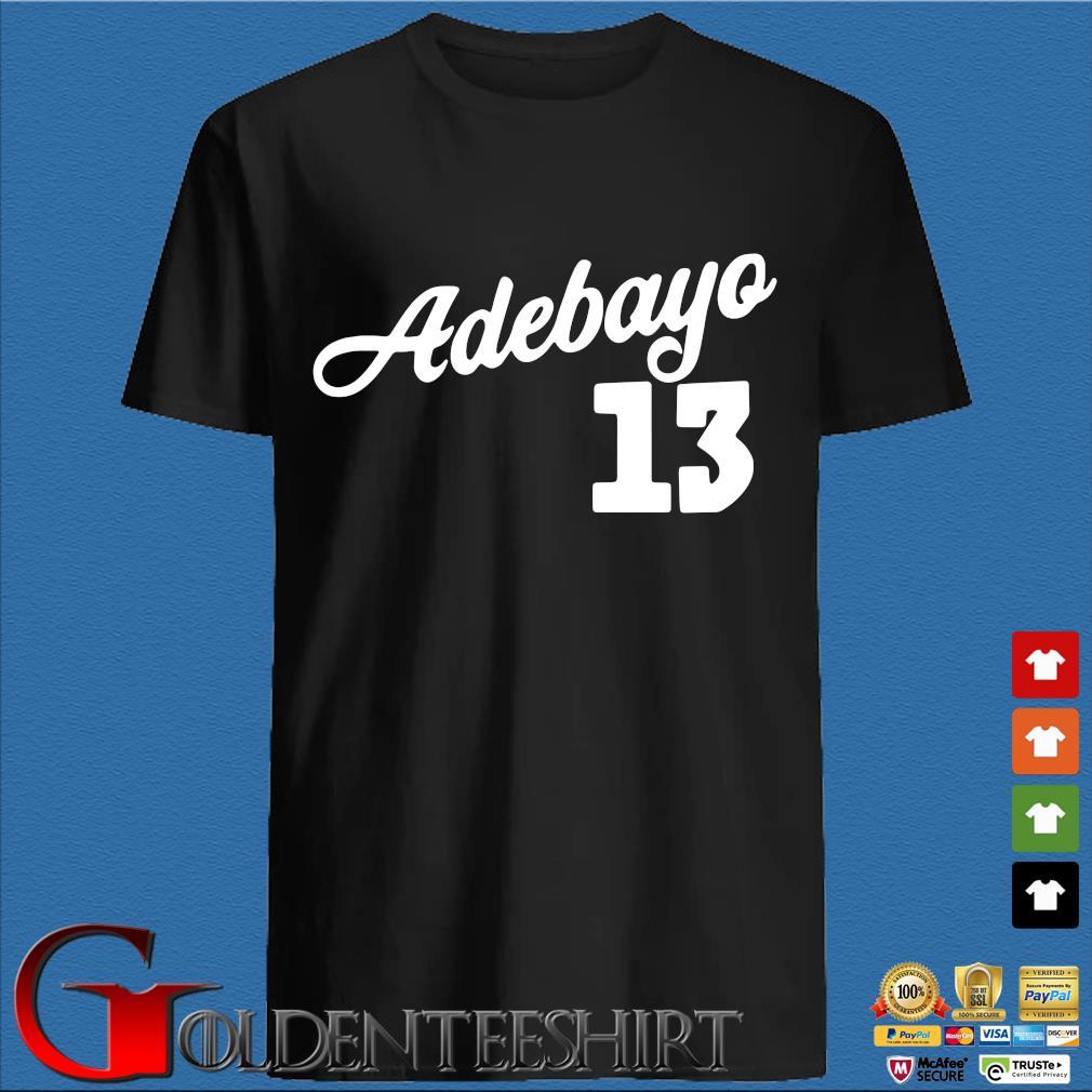Bam Adebayo 13 shirt