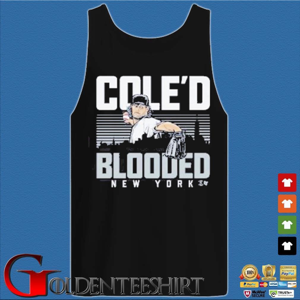 Baseball Cole'd Blooded Tee Shirts Tank top den