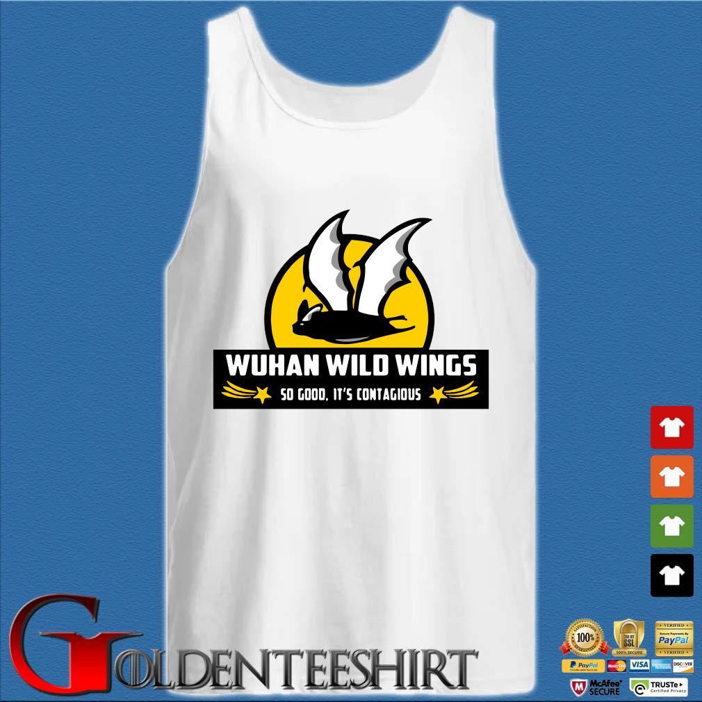 Bat Wuhan wild wings so good it's contagious Coronavirus s Tank top trắng