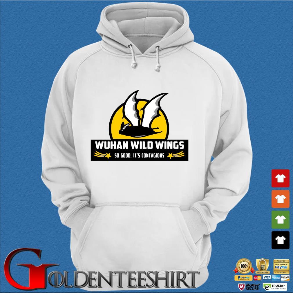 Bat Wuhan wild wings so good it's contagious Coronavirus s Trang Hoodie
