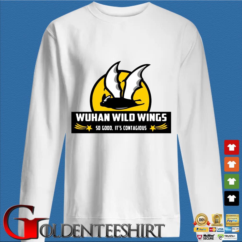 Bat Wuhan wild wings so good it's contagious Coronavirus s trang Sweater