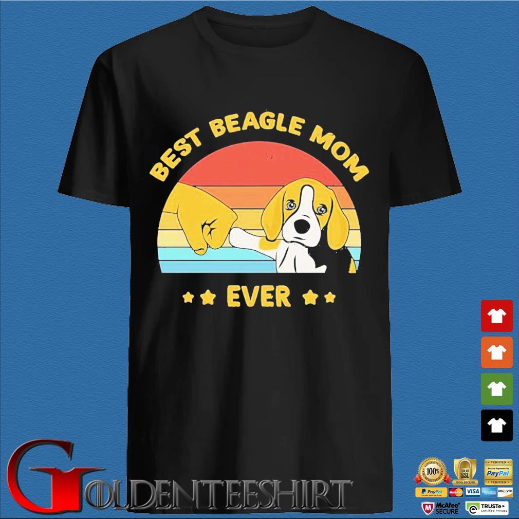 Best Beagle Mom ever vintage shirt