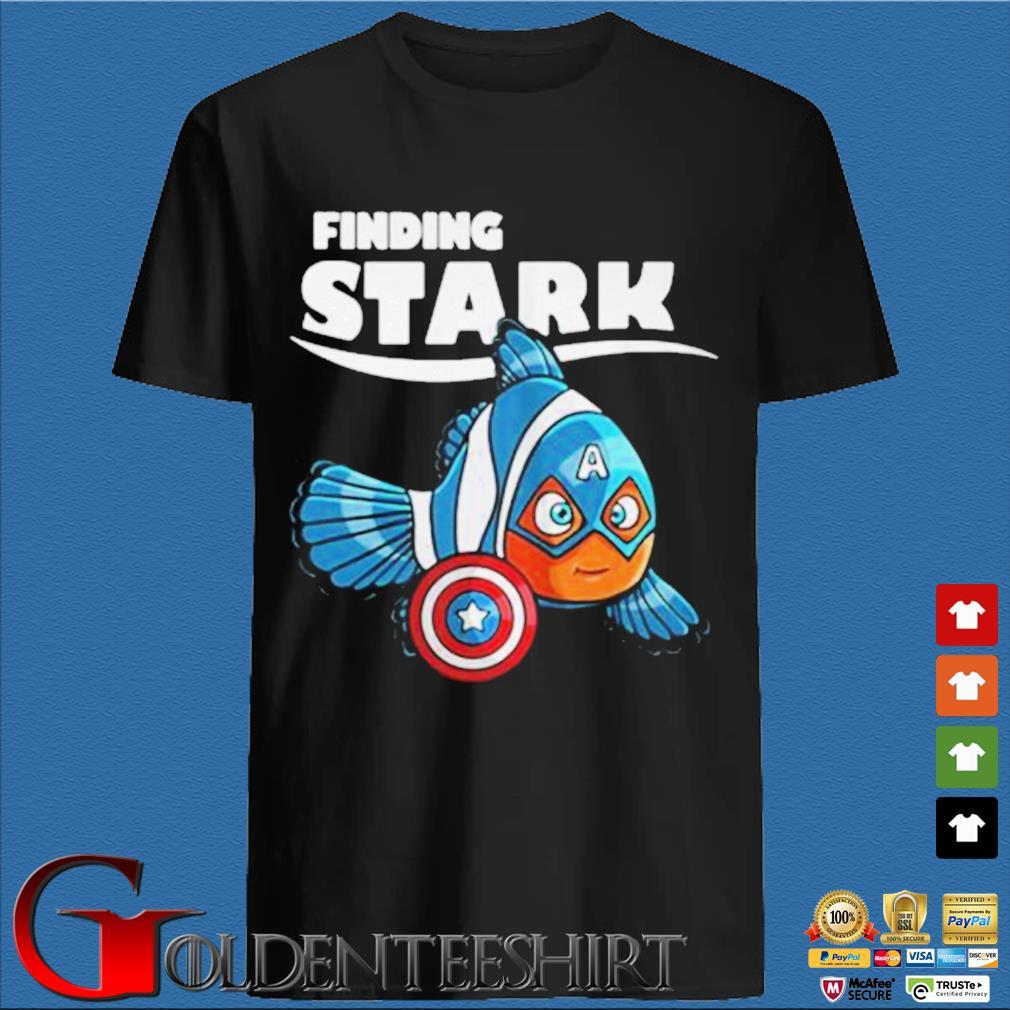 Captain America Clownfish finding Stark shirt