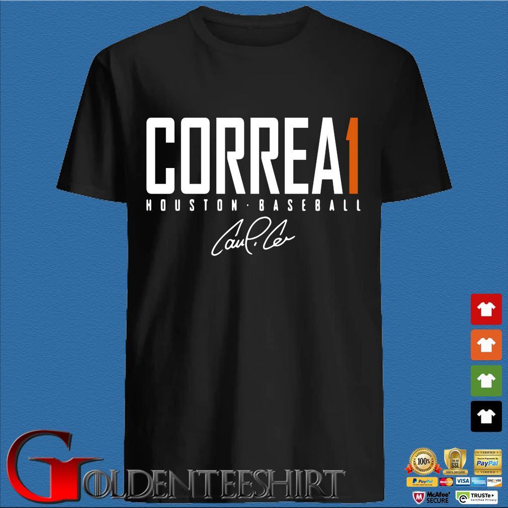 Carlos correa elite 2020 shirt houston baseball shirt