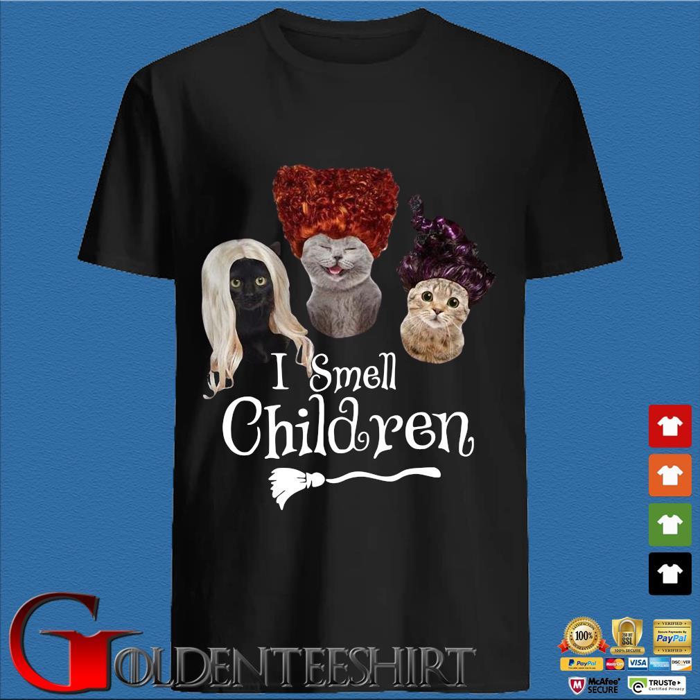 Cats hocat pocat I smell children shirt