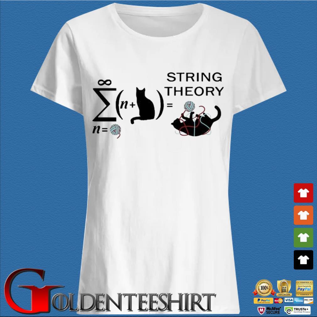 Cats string theory Shirt Trang Ladies