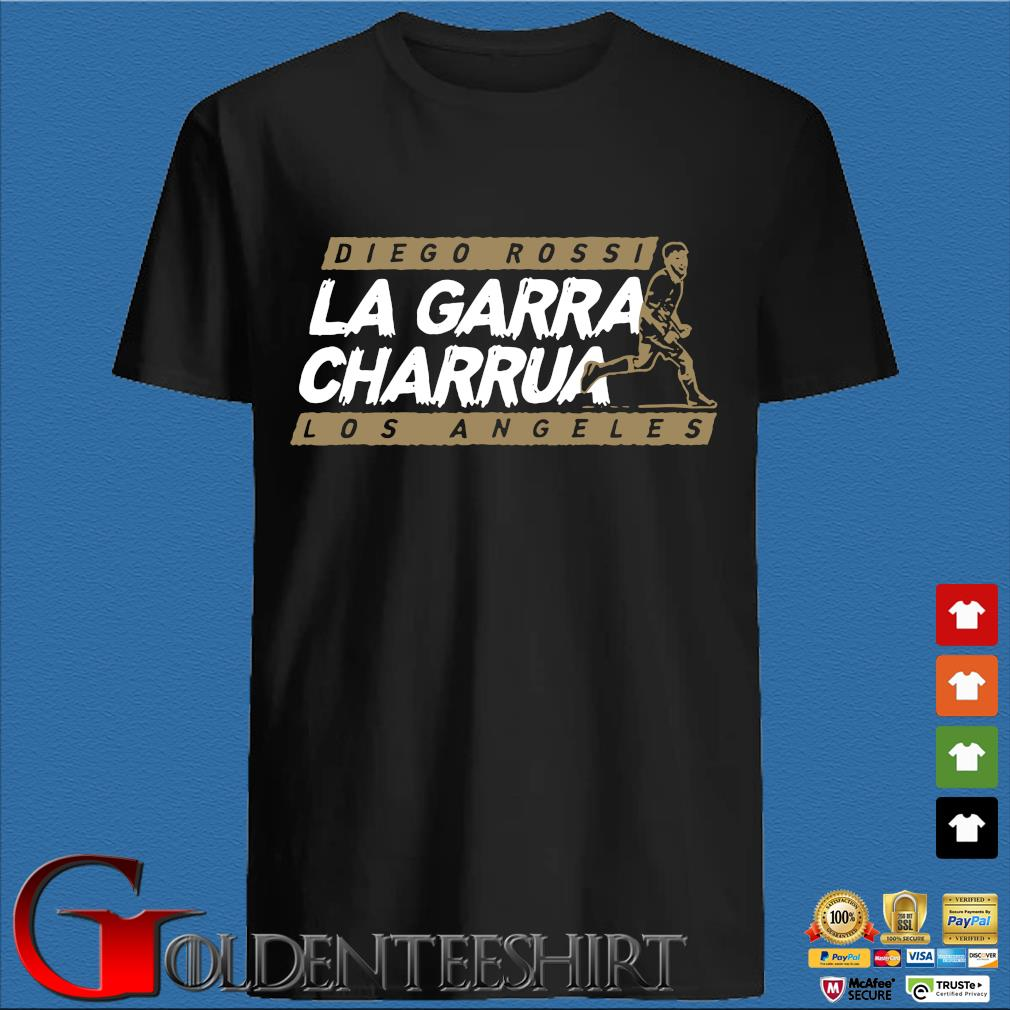 Diego Rossi La Rarra Charrua Los Angeles tee shirt