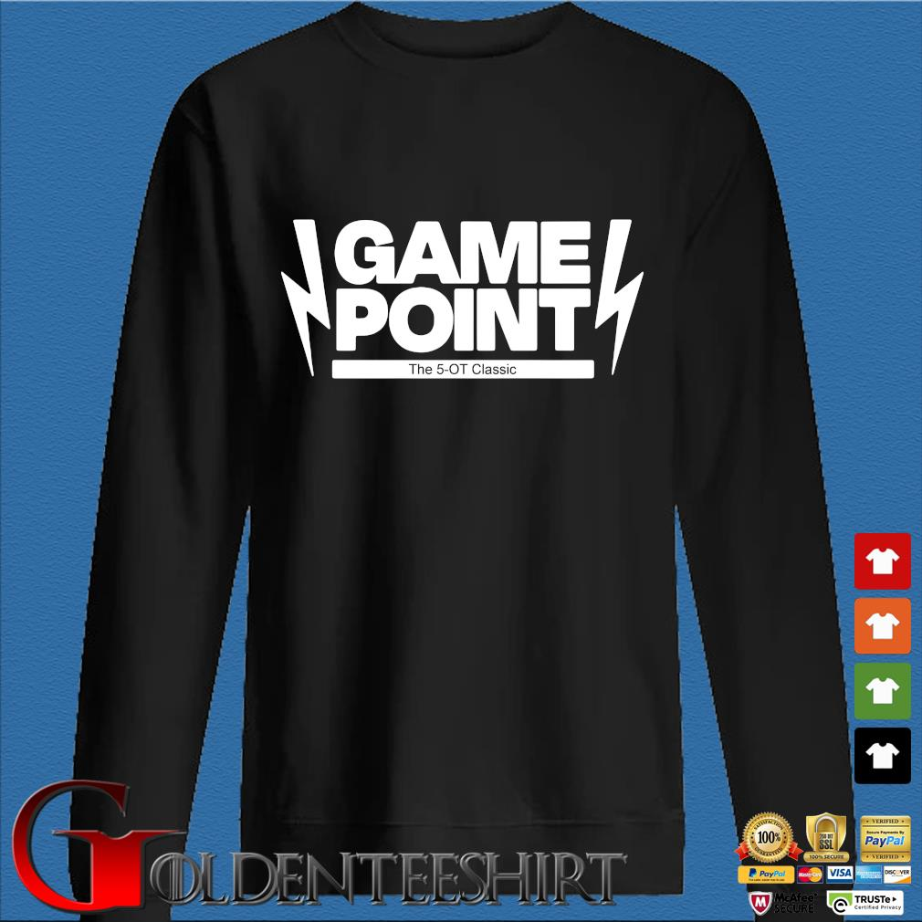 Game point the 5-OT 2020 s Den Sweater