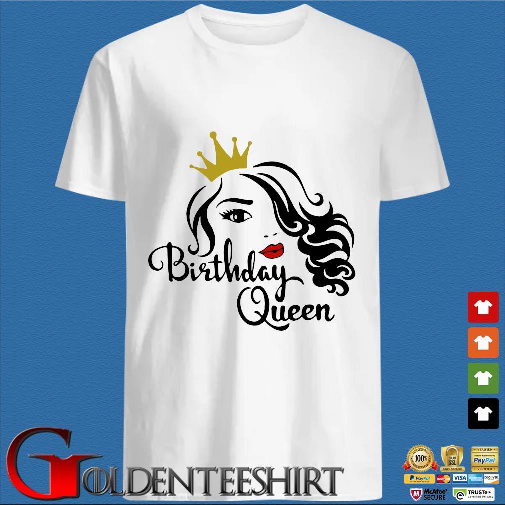 Queen birthday lips shirt