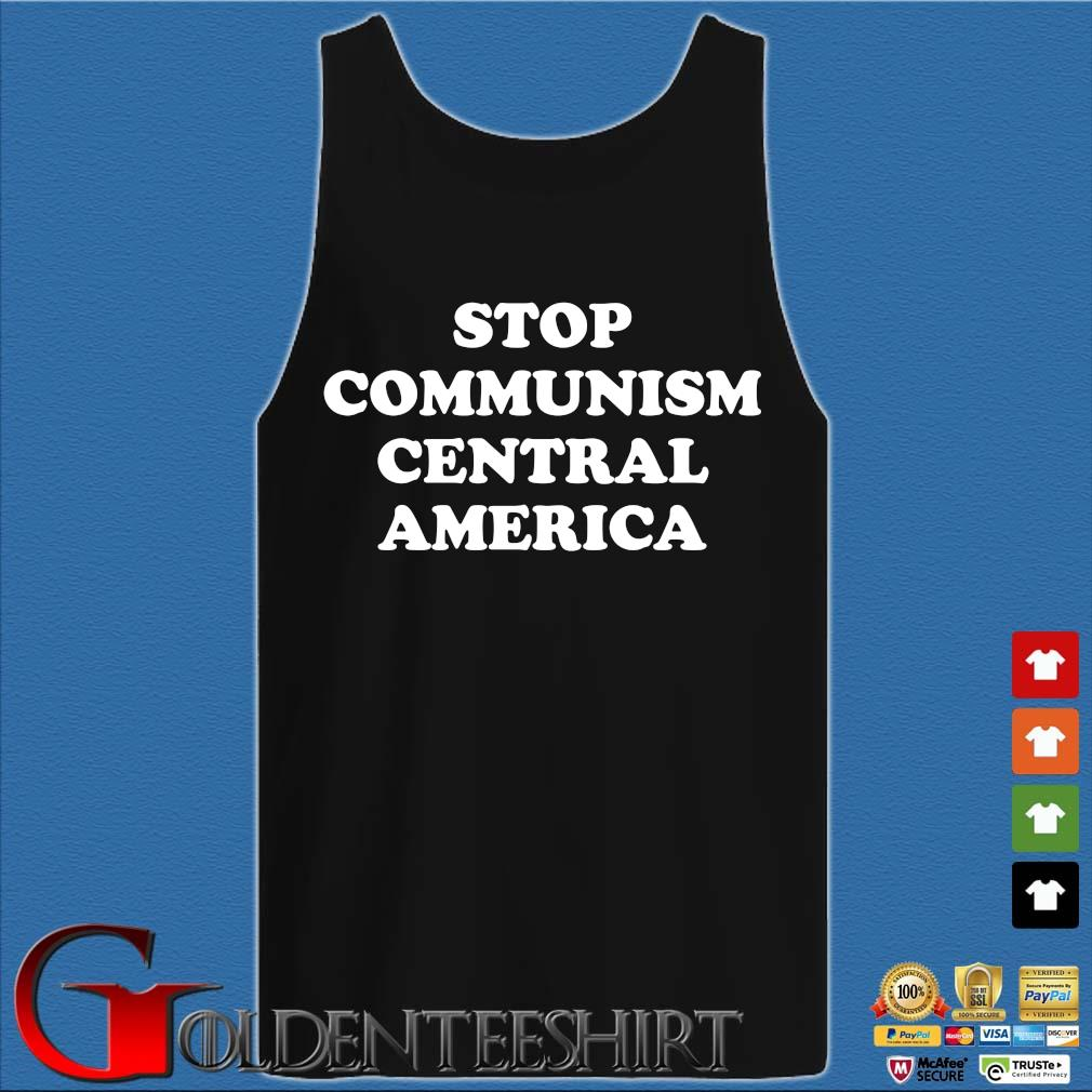 Stop communism central america s Tank top den