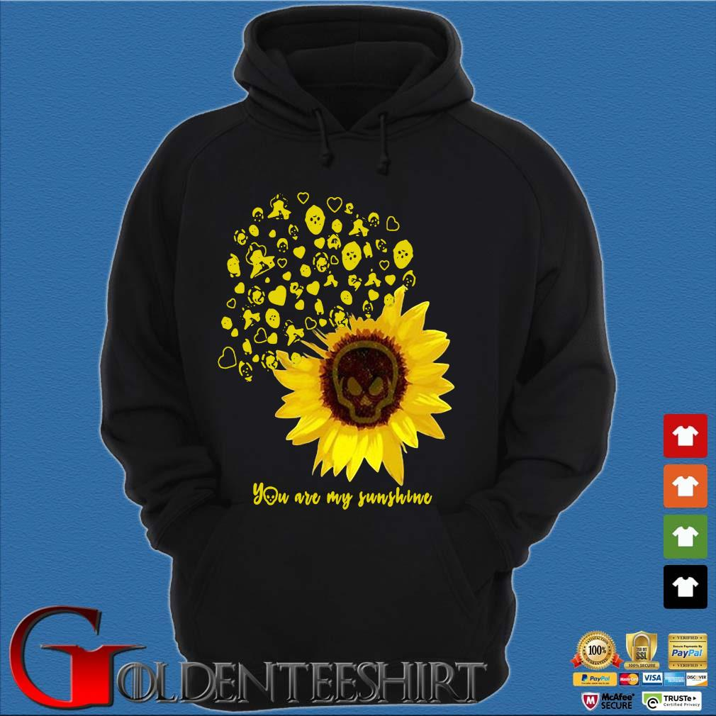 Sunflower weed you are my sunshine s Hoodie đen