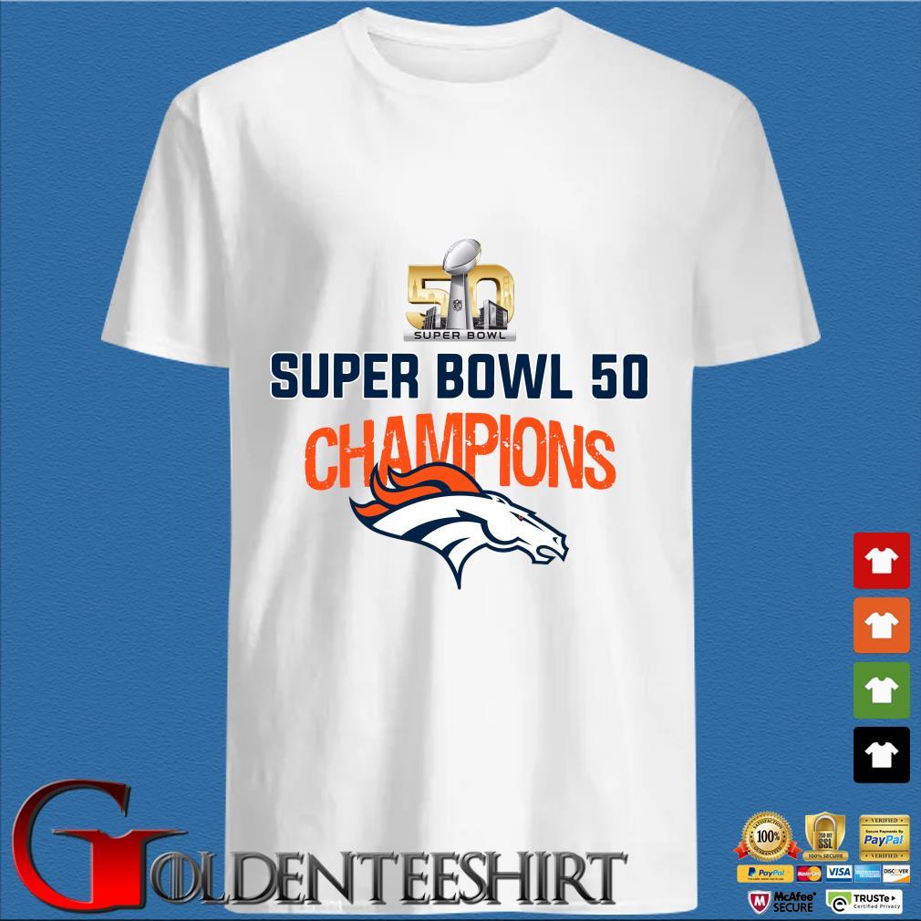 Super bowl 50 champion shirt