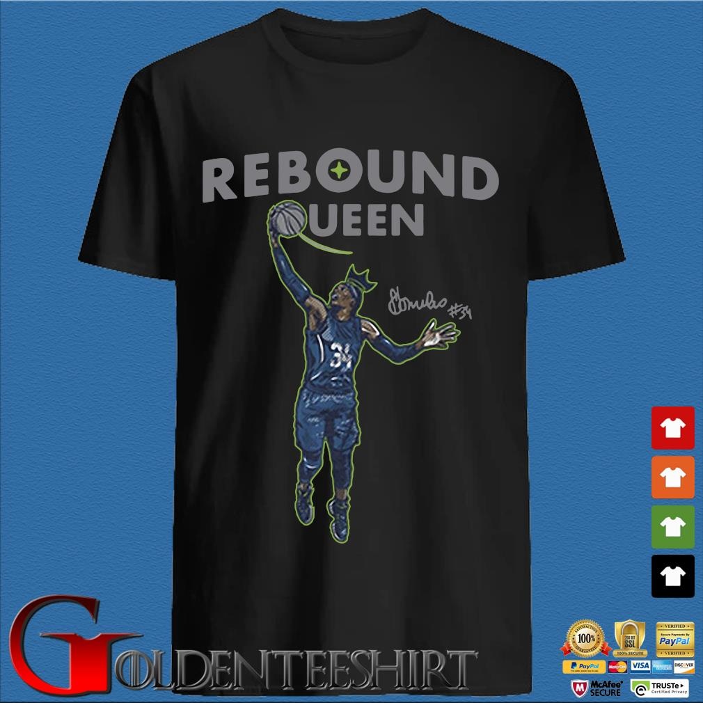 Sylvia Fowles rebound queen tee shirt