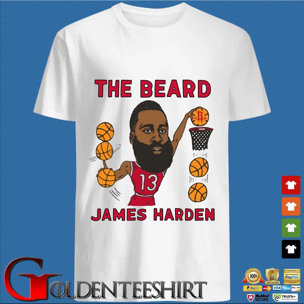 The beard James Harden Houston Rockets caricature shirt