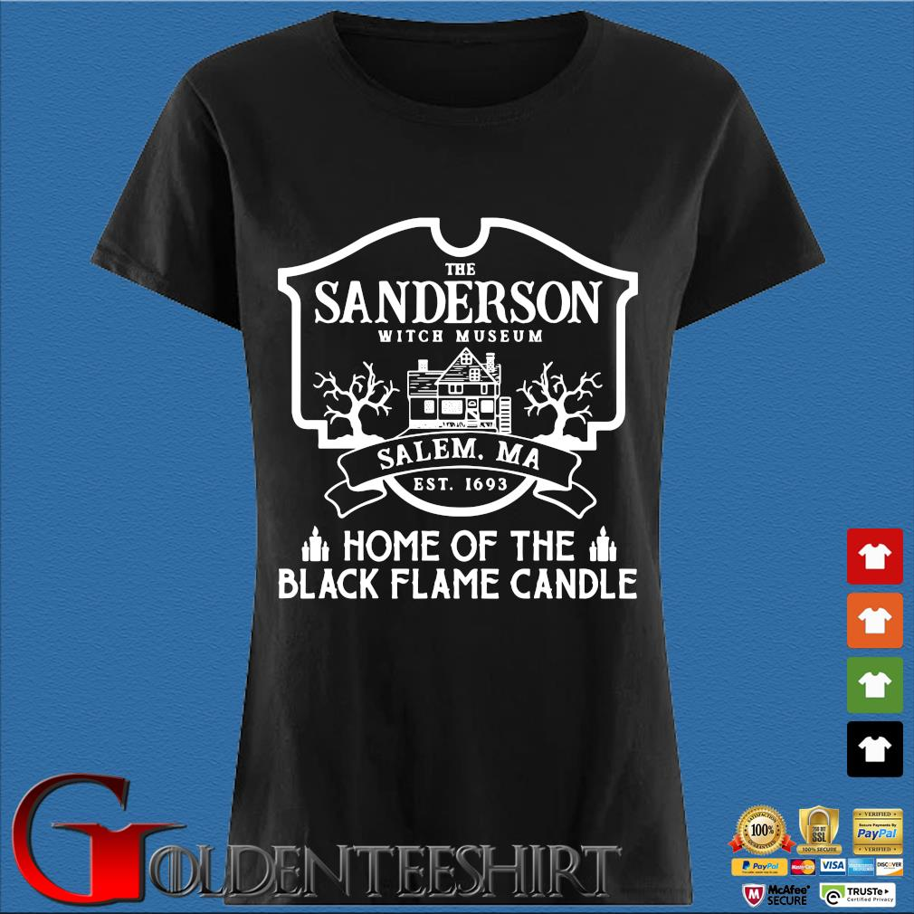 The sanderson witch museum salem ma est 11693 home of the black flame candle s Den Ladies