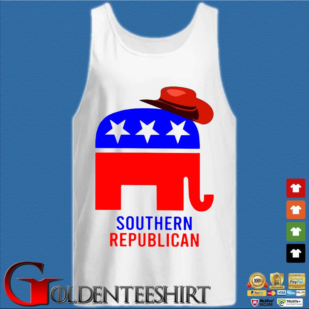 Trump Southern Republican s Tank top trắng