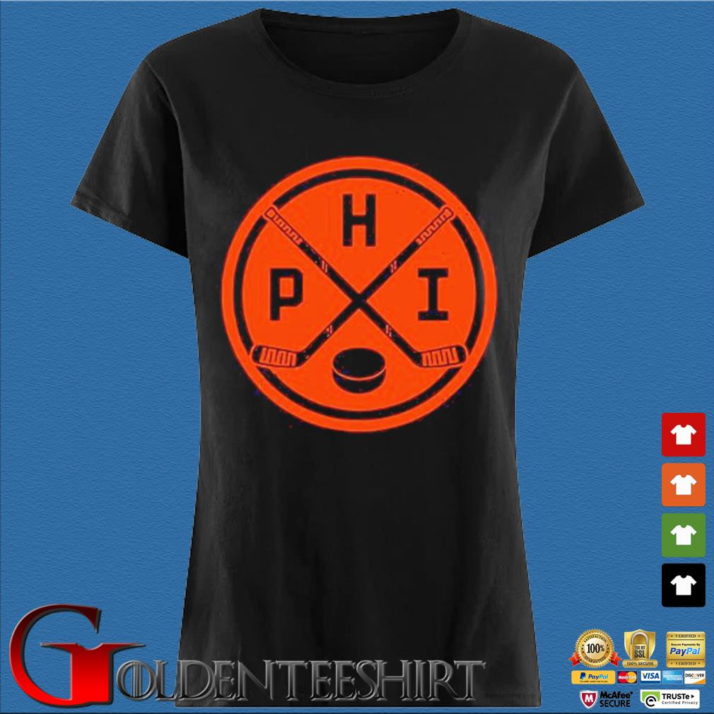 Vintage Philadelphia Ice Hockey Sticks Philly Phi Flyer Shirts Den Ladies