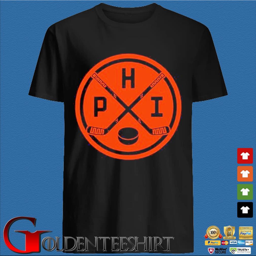Vintage Philadelphia Ice Hockey Sticks Philly Phi Flyer Shirts