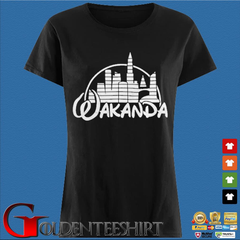 Wakanda Kingdom Marvel Hero Black Panther Shirt Den Ladies