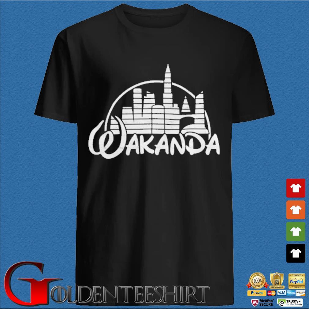 Wakanda Kingdom Marvel Hero Black Panther Shirt